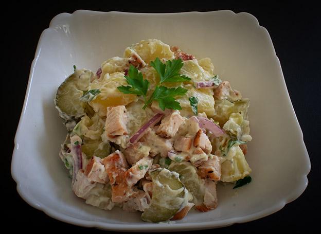 Salata de pui cu cartofi